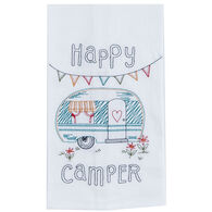 Kay Dee Designs Happy Camper Embroidered Flour Sack Towel