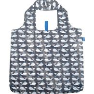 Rockflowerpaper Whales Grey Reusable Blu Bag