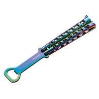 Boker Magnum Rainbow Balisong Bottle Opener