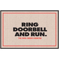 High Cotton Doormat - Ring Doorbell and Run