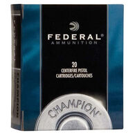 Federal Champion 32 H&R Magnum 95 Grain Lead Semi-Wadcutter Handgun Ammo (20)