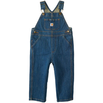 Carhartt Toddler/Infant Boys Washed Denim Bib Overall