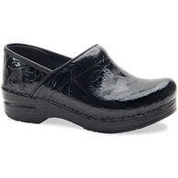 Dansko Women's Professional Tooled Leather Clog