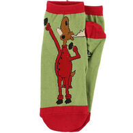 Lazy One Women's Almoose Asleep Slipper Sock