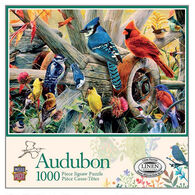 Leanin' Tree Jigsaw Puzzle - Audubon Backyard Birds