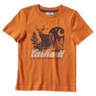 Carhartt Toddler Boy's Outdoor Graphic Short-Sleeve T-Shirt