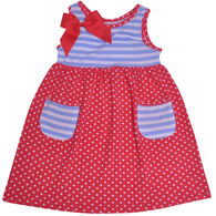 Flap Happy Toddler Girl's Simone Secret Pocket Dress