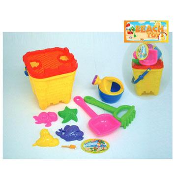 Sola Beach Toys 9-Piece Sand & Playset