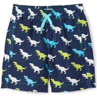 Hatley Boy's T-Rex Silhouettes Swim Short