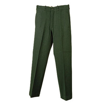 Johnson Woolen Mills Mens Big & Tall Wool Spruce Green Pant