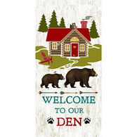Kay Dee Designs Welcome To Our Den Terry Towel