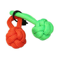Bison Designs S3 Survival Monkey Fist Paracord Zipper Pull - 2 Pk.