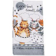 Kay Dee Designs Happy Cat Terry Kitchen Towel