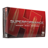 Hornady Superformance 6.5 x 55mm Swedish Mauser 140 Grain SST Rifle Ammo (20)