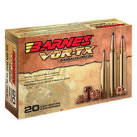 Barnes VOR-TX 300 WSM 165 Grain Tipped TSX BT Rifle Ammo (20)