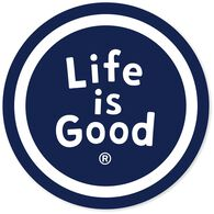 Life is Good Sphere Magnet