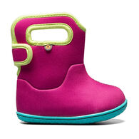 Bogs Infant/Toddler Girls' Baby Bogs Solid Insulated Boot