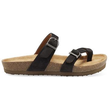 Eastland Womens Tiogo Buckle Strap Thong Sandal