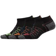 New Balance Men's Cushioned Performance Low Cut Sock, 3/pk