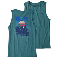 Patagonia Women's Paper Peaks Organic Cotton Muscle Tank Top