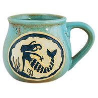 Cape Shore Maine Mermaid Bean Pot Mug