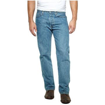 Levis Mens Original Fit Button-Fly 501 Jean