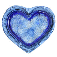 Down to Earth Pottery Heart Shaped Dish