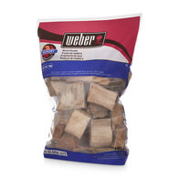 Weber Hickory Wood Chunks Bag - 4 Lbs.