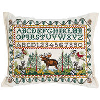 """Paine Products 6"""" x 9"""" Woods & Alphabet Balsam Pillow"""
