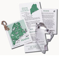 Ann Clark Tin Cookie Cutter - State of Maine
