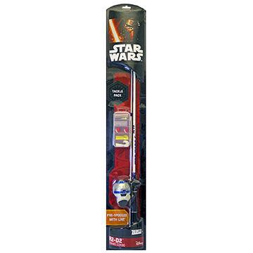 Zebco Children's Star Wars R2-D2 Spincast Combo