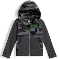 The North Face Toddler Boys' & Girls' Glacier Full Zip Hoodie