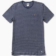 Reef Men's Sail Striped Crew Neck Short-Sleeve Shirt