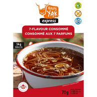 Happy Yak Lactose-Free Vegan GF 7-Flavor Consommé - 1 Serving