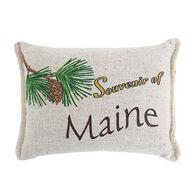 """Paine Products Balsam Fir 5"""" x 4"""" Maine Souvenir Pillow"""