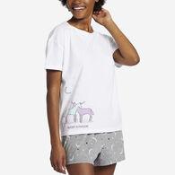 Life is Good Women's Sleep Is Magic Snuggle Up Relaxed Sleep Short-Sleeve T-Shirt