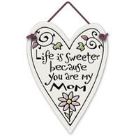 "Spooner Creek Designs ""My Mom"" Mini Charmers Heart Tile"