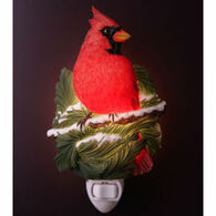 Ibis & Orchid Design Cardinal On Pine Nightlight