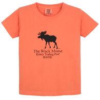 Original Design Youth Kittery Trading Post Black Moose Short-Sleeve T-Shirt