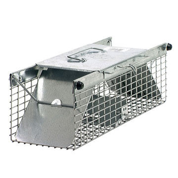 Havahart 17.5 Small Two-Door Live Animal Cage Trap