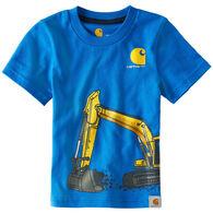 Carhartt Infant/Toddler Boys' Construction Wrap Short-Sleeve T-Shirt
