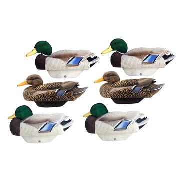 Lifetime Decoys FlexFloat Flocked Mallard Decoys - 6 Pack