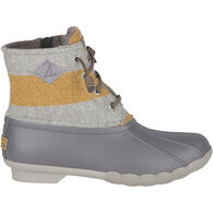 Sperry Women's Saltwater Varsity Stripe Duck Boot
