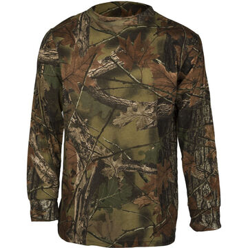 Trail Crest Youth Cotton Long-Sleeve Shirt