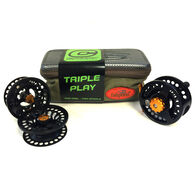 Cheeky Tyro 350 5-6 Wt. Triple Play Fly Reel and Spool Bundle