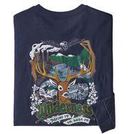 Patagonia Men's Yes To Wilderness Responsibili-Tee Long-Sleeve T-Shirt