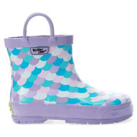 Western Chief Girls' Shorty Mermaid Ankle Rain Boot