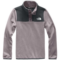 The North Face Girl's Glacier Quarter Snap Pullover