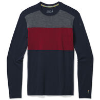 SmartWool Men's Merino 250 Colorblock Crew Baselayer Top