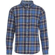 Woolrich Men's Trout Run Plaid Flannel Long-Sleeve Shirt